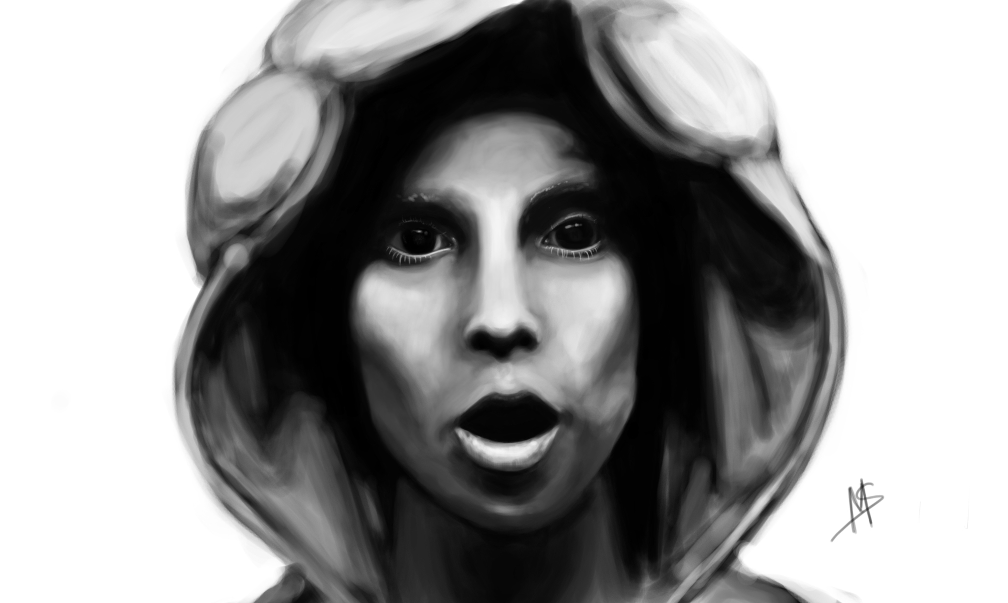 Yolandi Digital Painting